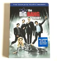 THE BIG BANG THEORY ~ THE COMPLETE FOURTH SEASON  / BRAND NEW! 3-DISCS w/EXTRAS