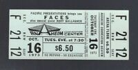 VINTAGE 1973 FACES WITH ROD STEWART FULL CONCERT TICKET @ ANAHEIM - OCTOBER 16