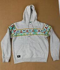 LRG Mens Size Small Gray Heather Hoodie Hooded Sweatshirt