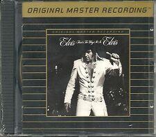 Presley, Elvis That`s the Way it is MFSL Gold CD Neu OVP Sealed UDCD 560 UI Jap.