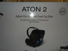 Aton 2 #5151003011 Infant  Car seat & Base with loads leg,Cyber GOLD,HAWAII-Open