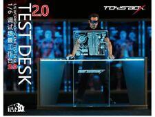 1/6 TOYS-BOX Iron Man Workbench 2.0 Text Desk 12'' Figure Scifi Scene Accessory