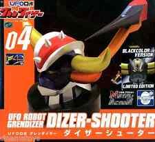 Goldrake Ufo Robot Grendizer Dizer-Shooter Evolution Toy Metal Action 04 BLACK
