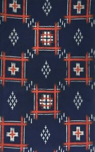 BY THE METRE Vintage Japanese WOOL Kimono TSUMUGI Fabric Patchwork Quilting #172