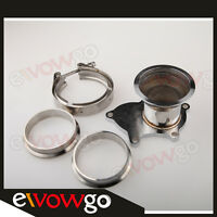 """T3 T3/T4 5 Bolt Turbo Downpipe Flange To 3"""" V Band Conversion Adaptor Kit"""
