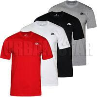 New Men's Nike Gym Sports T-Shirt Retro Nike Logo Top Crew Neck Tee S M L XL XXL