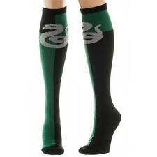 Harry Potter - Slytherin Adult Size Knee High Socks New & Official Warner Bros