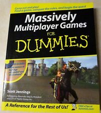 Massively Multiplayer Games for Dummies by Scott Jennings (2005, Paperback) CD