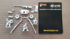 28mm Warlord Games  WWII  ( Bolt Action ) British  6 Pdr AT Gun