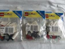 3 Brand New Sealed Lego System Service Packs 5050 C Airplane Retired 1995 F/Ship