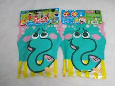 Elephant Glove A Bubbles Wave And Play Zing Toys  Lot of 2 Girls Boys Age 3+