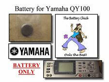 Battery for Yamaha QY100 Sequencer - Internal Memory Replacement Battery