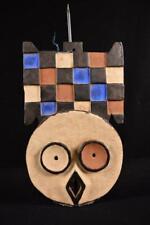 11856 Afrikanische Alte BWA Plank Mask / Maske Burkina Faso