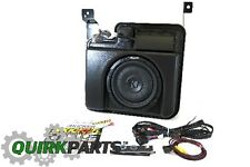 14-16 Silverado Sierra Crew Cab Kicker® 200 Watt Powered Sub-woofer Kit OEM NEW