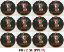 CAPTAIN MORGAN 12 BEER BAR TOP SPILL MAT RUBBER COASTERS NEW