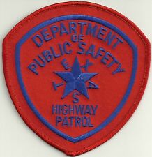 STATE POLICE *TEXAS* grosse Version StaatsPolizei Abzeichen Patch Highway Patrol