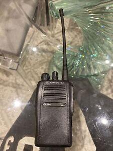 Motorola GP344 UHF Radio Walkie Talkie