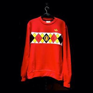 Belgium 1984 Retro Sweatshirt // soccer shirt vintage jersey valentines day gift