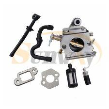 Carburateur et Tuyau pour STIHL MS170 MS180 017 018 Tronçonneuse # Zama C1Q-S57