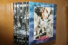 Carcass ‎– The Complete Pathologist's Report 5CD/DVD set dual discs