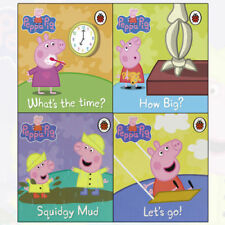 Peppa Pig 4 Books Collection Lady bird's Picture Flat Children's Pack (Dady Pig)