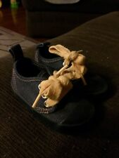 Baby Gap Unisex Canvas Shoes Size 3 Blue Jean In Color