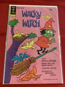 Wacky Witch #15 Gold Key Comics