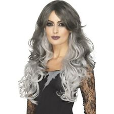 Deluxe Gothic Bride Wig Heat Resistant Styleable Halloween Fancy Dress Wig