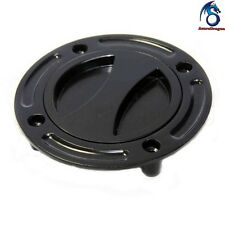 Black Keyless Gas Cap Twist Off Fuel Tank Cap For 1997-2003 Suzuki GSX-R 600/750