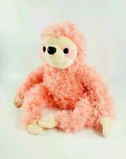 """Pier 1 Imports Pink Sloth Plush Iggy 13"""" Stuffed Animal"""