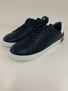 Authentic Izod Men's IRA Sneakers Men's Navy Leather