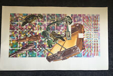 "PETER PHILLIPS b1939 Limited Ed SCREENPRINT ""Select-o-Mat Tempest ii"" 16/100"