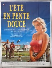L'ETE EN PENTE DOUCE - AFFICHE CINEMA MOVIE POSTER 120X160 JACQUES VILLERET