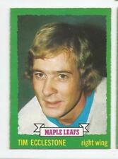 1973-74 OPC #144 TIM ECCLESTONE TORONTO MAPLE LEAFS O-PEE-CHEE