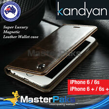 Luxury Magnetic Flip Cover Wallet Leather Case For Apple iPhone 6s/6/6s Plus