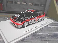 HONDA Civic EF3 Racing Gr.C Macau GP Guia 1989 Winner #20 Tsutsumi Spark 1:43