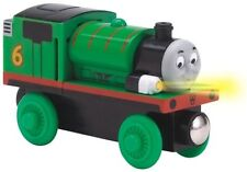 Thomas The Tank Engine - Lights & Sounds Battery Percy W/Collector Card*New*