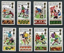 Rwanda - 354/361 - Coupe du Monde Mexico - 1970 - MNH