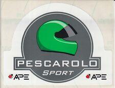 Pescarolo Sport Racing Stickers Le Mans Henri Pescarolo.