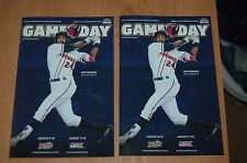 Lancaster Jethawks, Game Day Program, Colorado Rockies Single A Baseball