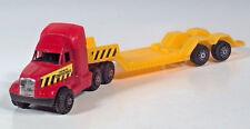 "Tootsietoy Semi Machinery Hauler Low Deck Truck 9.75"" Diecast Scale Model"