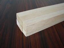 Vierkantleiste 2Stück 3x3mm 1m Balsa  3 x 3 mm Balsaleiste Balsaholz NEU