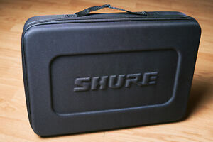 Shure Microphone Mic Case Soft Shell Foam for SM57 Beta 52-A A56D New!