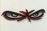 Angry red Eyes Bikers Jackets Embroidered Iron on Sew on Patch j1705
