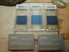 Aveda Eye Color Shadow Lot CERULEAN BLOOM  OCEANICA  & BLUE LAPIS 3 pc Set New