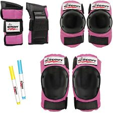 Wipeout Dry Erase Protective Gear Black/Pink Age 5+ ~ New in Package