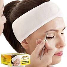 Gold Cosmetics & Supplies 3-pc Elastic Terry Cloth Spa Headband Hair Headbands