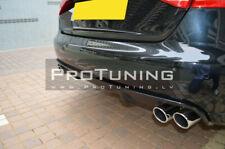 For standard prefacelift Audi A4 B8 08-11 Rear Bumper Twin diffuser valance DTM