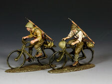 JN044 Japanese Riding Their Bicycles by King & Country