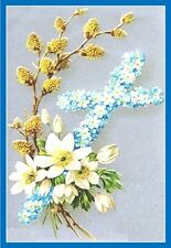 30 Custom Beautiful Easter Cross Personalized Address Labels